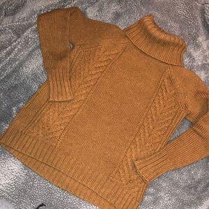 American Eagle Fuzzy Turtleneck Sweater
